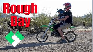 Download ROUGH DAY OF DIRT BIKE RIDING (11.8.14 - Day 953) Video