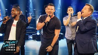 Download Sexiest Male Vocalist Riff-Off w/ Usher & Luke Evans Video