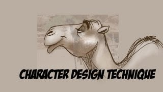 Download Cartoon Character Design Tutorial : EASY Technique! Video