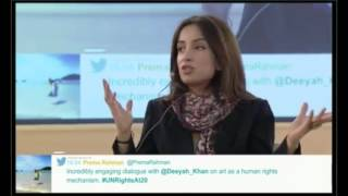 Download Deeyah Khan speaks out against the use of drones Video