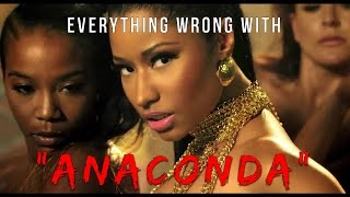 Download Everything Wrong With Nicki Minaj - ″Anaconda″ Video