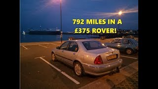 Download Diary: Rover 45 Roadtrip - 600 miles in a £375 car Video