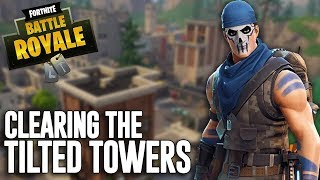 Download Clearing The Tilted Towers!! Fortnite Battle Royale Gameplay - Ninja Video