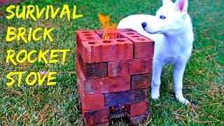 Download Brick Rocket Stove - Survival tips #35 Video