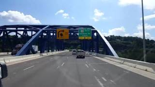 Download Bigrigtravels Live! Charleston, West Virginia to Cannonsburg, Kentucky I-64 West June 3, 2016 Video