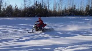 Download Kawasaki 600 snowbike Video