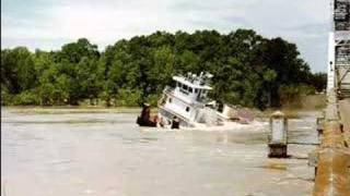 Download Boat under a bridge Video