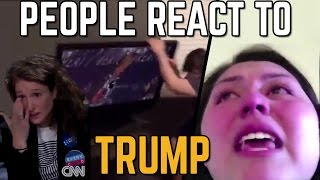 Download People React To Donald Trump Victory [SJW MELTDOWN] Video