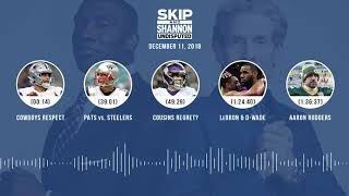 Download UNDISPUTED Audio Podcast (12.11.18) with Skip Bayless, Shannon Sharpe & Jenny Taft | UNDISPUTED Video