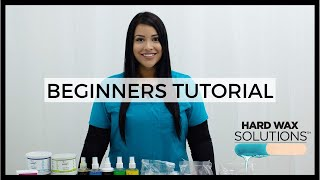 Download Introduction to Waxing - Beginners Hard Wax Tutorial Video