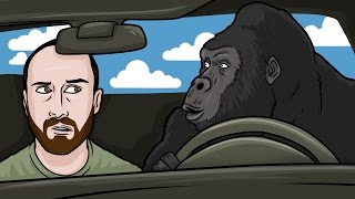 Download HARAMBE UBER DRIVER - King of the Kill Funny Multiplayer Moments with Friendos Video