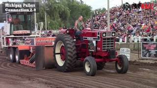 Download Field Farm Tractor Class At WMP Tractor Pulls In Fremont Michigan 2017 Video