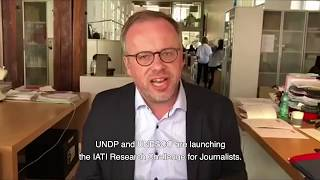 Download IATI research challenge for journalists 2018 - Christophe Deloire, Reporters without Borders Video