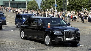 Download Putin's Limo: First public appearance of Aurus outside Russia Video