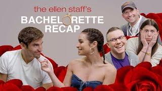 Download Ellen's Staff Breaks Down 'Bachelorette' Drama with Ashley Iaconetti and Jared Haibon Video