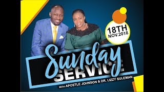 Download Sun. Service 18th Sept. 2018 Live with Apostle Johnson Suleman Video