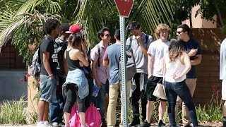 Download Cutting College Kids In Line Prank Video