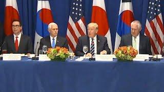 Download Trump reveals new North Korea sanctions Video