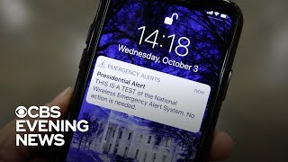 Download Presidential alert sent to 75 percent of the country Video