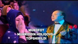 """Download """"Mukofot Muhriddin Holiqovga topshirildi"""" Video"""