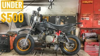 Download ULTIMATE Budget Mini Moto/Pit Bike BUILD! Video