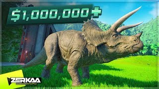 Download I MADE $1,000,000 FROM 1 DINOSAUR! (Jurassic World Evolution #2) Video