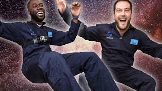 Download People Experience Zero Gravity For The First Time Video