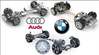 Download 4MATIC Vs xDrive Vs Quattro 4X4 System - Mercedes Benz / BMW / Audi Video