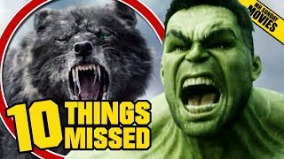 Download THOR: RAGNAROK Official Trailer 2 - Things Missed & Easter Eggs Video