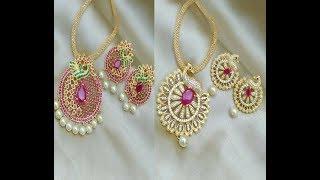 Download Kundan Wedding Long Necklace Set    Designer Kundan Necklace models Video