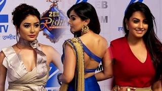 Download Zee Rishtey Awards 2017 | Red Carpet | Sanskari TV Bahus Hot Avatar - Anita Hassanandani | Sriti Video