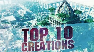 Download MINECRAFT - TOP 10 BEST CREATIONS 2015 - Epic Cities and Buildings with Download Video
