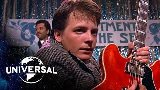 Download Back to the Future | Marty McFly Plays ″Johnny B. Goode″ and ″Earth Angel″ Video