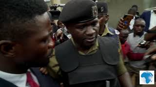 Download Bobi Wine under house arrest, police ambush him as he tries to leave house Video