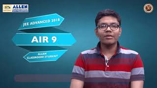 Download ALLEN Classroom Student | LAY JAIN AIR-9 securer | JEE ADVANCED 2018 Video