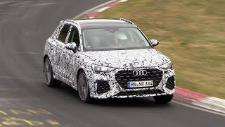 Download 2019 Audi RS Q3 - Exhaust SOUNDS on the Nurburgring! Video