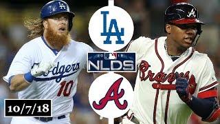 Download Los Angeles Dodgers vs Atlanta Braves Highlights    NLDS Game 3    October 7, 2018 Video