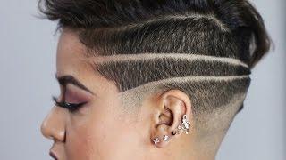 Download Women Get Badass Shaved Head Designs Video