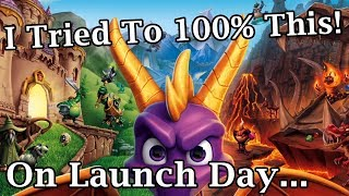 Download I Tried To 100% Spyro Reignited Trilogy On Launch Day Like A Madman Video