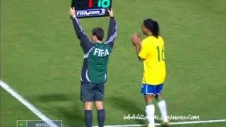 Download Ronaldinho last game for seleçao before WC 2010 || 1/4/2009 Video