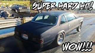 Download 1 OF THE HARDEST NITROUS HITS EVER! THIS BIG BLOCK NITROUS MALIBU SPRAYED IT DOWN! Video