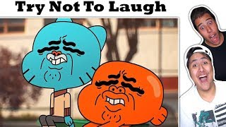 Download Try Not To Laugh Challenge The Best Of The Amazing World Of Gumball Video