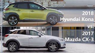 Download 2018 Hyundai Kona vs 2017 Mazda CX-3 (technical comparison) Video