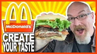 Download McDonald's® ″Create Your Taste″ Build Your Own Burger Video