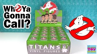 Download Ghostbusters Titans Full Case Unboxing Rare Chase Figures Toy Review | PSToyReviews Video
