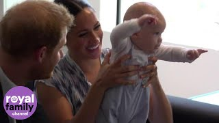 Download 'Busy' Baby Archie Leaves Desmond Tutu's Daughter in Hysterics Video