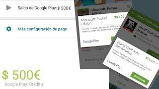 Download 💲💵Saldo para play store totalmente gratis (sin códigos, ni anuncios!!!😱😲☺) Video