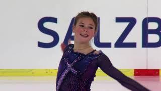 Download Anastasia TARAKANOVA RUS - Salzburg - Ladies Free Skating - ISU JGP 2017 Video