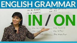 Download English Prepositions: IN or ON? Video