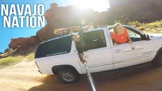 Download INSANE OFF ROADING in the NAVAJO NATION! - Hunts Mesa Monument Valley Video